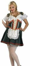 German Beer Girl Costume Bavarian Oktoberfest Bar Maid - Plus Size 14-16 - Fast