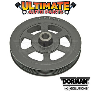 Harmonic Balancer Pulley (3.3L / 3.8L - V6) for 90-07 Chrysler Town and Country