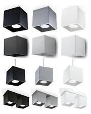 Lampe Wandleuchte Pendelleuchte Plafond GEO LED GU10 G9 weiß schwarz grau 01 NEU