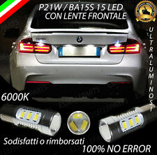 COPPIA DI LUCI RETROMARCIA 15 LED P21W BA15S CANBUS BMW SERIE 3 F30 NO ERROR