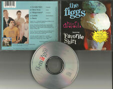 THE FIGGS Favorite Shirt w/ 3 UNRLEASED TRX KINKS Remake cover LIMITED CD Single