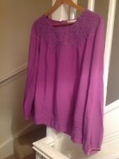 Marks & Spencer's Purply Blusa Talla 20