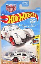 2018 Hot Wheels #147 Legends of Speed 2/10 VOLKSWAGEN KAFER RACER White w/Red5Sp