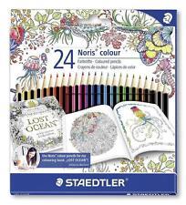 STAEDTLER 185 C24JB Noris Colour Colouring 24 Pencils - Johanna Basford Edition