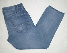 Men's 7 for all mankind the straight jeans size 36 x 29 Factory Faded