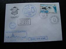 TAAF - enveloppe 2/2/1985 (cy57)