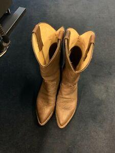 Justin Cowboy Boots Series 1342 Size US 8.5D