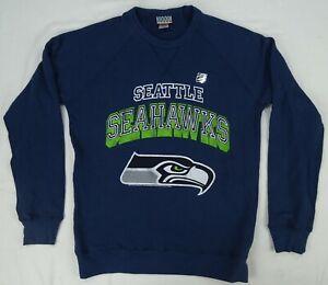 Seattle Seahawks NFL Junk Food Men's Crew Neck Sweatshirt