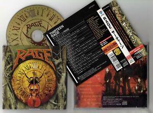 RAGE - XⅢ - 1998 Japan CD obi + bonus track
