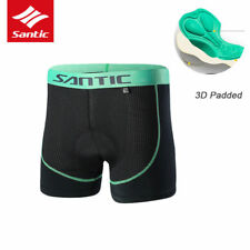 SANTIC Cycling Fashion Underpants Hipster Underwear Shorts 3D Padded-Demeanour