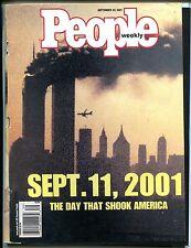 People Magazine September 24 2001 Sept, 11 2001 VG No ML 122916jhe