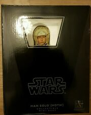 STAR WARS GENTLE GIANT MINI BUST HAN SOLO HOTH GEAR BRAND NEW NEVER OPENED