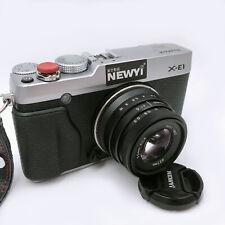 Metal Fujifilm X FX mount 35mm F1.6 Lens For Fuji X-E2 X-A5 X-T100 X-Pro2 X-T1