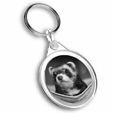 Keyring Circle - Bw - Ferret Hammock Pet Rodent Animal #37246