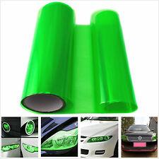 Car Headlight Tint Vinyl Green Wrap Film Sheet Overlay Protector Decal Sticker