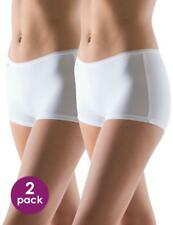 sloggi Size 16 Pure Sense Microfibre Shorts Knickers Panties White