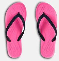 Under Armour UA Atlantic Dune Women's Sandals Flip Flops Pink/Navy Blue1252540