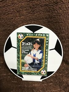 Soccer Ball Sports Themed All Star MVP Player Trading Cards Photos Frame #P
