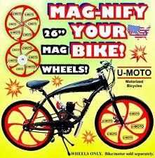 2-Stroke 66cc/80cc Motorized Bike 26� Mag Wheels For Motorized Bike Kit