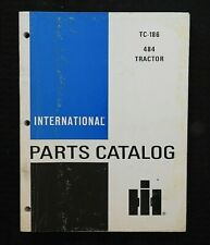 1985 FARMALL INTERNATIONAL HARVESTER 484 TRACTOR PARTS CATALOG MANUAL TC-186