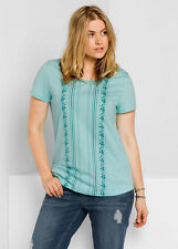 T-Shirt SHEEGO Casual, pastellmint. NEU!!! KP 24,99 �'� SALE%25%25%25