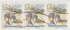 (UST-386) 1978 USA 31c 3strip powered flight air mail (T)