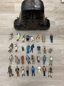 Vintage Kenner Star Wars Darth Vader Figure Case Lot with 32 Figures!!