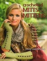 Crocheted Mitts & Mittens, Paperback by Gunderson, Amy, Like New Used, Free s...