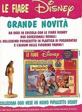 X1980 Pocahontas - Le Fiabe Disney - Pubblicità del 1996 - Vintage advertising