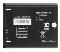 Replacement Battery for Alcatel 768 CAB3120000C1/ OT880/ OT875 *Same Day Ship*