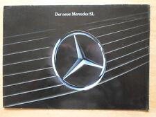 MERCEDES-BENZ SL orig 1989 German Mkt sales brochure - 300 SL-24 500SL