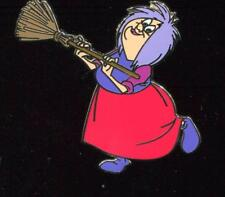 The Sword in the Stone Madam Mim with Broom Disney Pin 116712