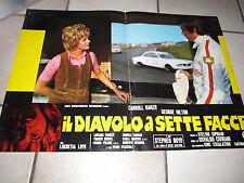 FOTOBUSTA AUTO CAR DIAVOLO A SETTE FACCE BAKER HILTON CIVIRANI,1971 BMW 2002 ti
