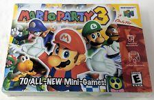 Mario Party 3 Nintendo 64 N64 Brand New Sealed