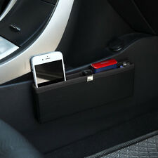 New Pocket Black Car Seat Side Organizer Storage Box Auto Accessories Basket