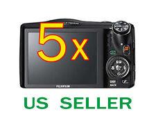 5x Fujifilm FinePix F750EXR Clear LCD Screen Protector Guard Shield Film