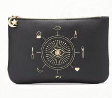 Ipsy Glam Bag October 2020 You're Magic Black Gold Makeup Bag Zipper