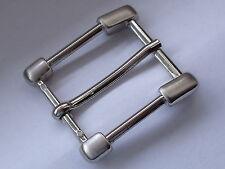 Gürtelschnalle Schließe Schnalle Verschluss 2,9 cm silber NEUWARE rostfrei #346#