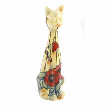 Old Tupton Ware TW1396 Yellow Poppy cat figurine NEW  18379