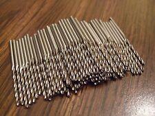 "50 Pcs. 5/64 Jobbers Length Drill bits hss high speed steel cutting 2"" Long  NEW"