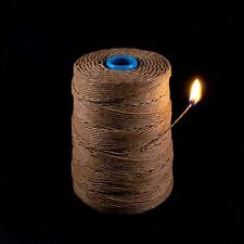 Kush Hemp Wick 850 feet BEST DEAL on Bee Rope Hemp Line Hempwick Wax String