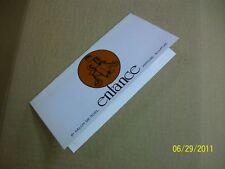 """AUBAGNE """"carton d'invitation 8"""" salon de noel  1979 """""""