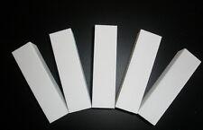 Buffer 5 Stück Schleifblock / Buffer in weiß Körnung 100/100 Feile Feilen