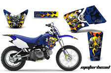 Dirt Bike Graphics Kit Decal Wrap For Yamaha TTR90 TTR90E 2000-2007 MOTORHEAD U