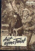 IFB Nr. 4886 Auf eigene Faust / Ride lonesome ( Randolph Scott , Karen Steele )