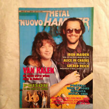 METAL HAMMER N.3/93 VAN HALEN IRON MAIDEN ALICE IN CHAINS SACRED REICH TROUBLE