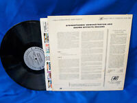 Stereodisc LP Demonstration and Sound Effects Record Audio Fidelity AFSD 5890