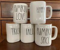 RAE DUNN - Happy Halloween, Fall Y'all, Pumpkin Spice, Trick Treat, Pumpkin Love