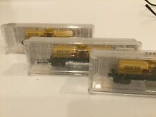 N scale Micro-Trains lot of 3 Shell tank cars