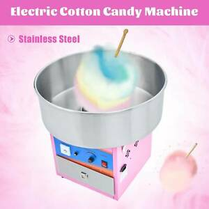 Electric Cotton Candy Machine Candy Floss Maker Commercial Grade